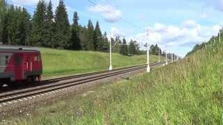 Электропоезд ЭТ2М-100 №6508 Москва-Пассажирская (Ленинградский вокзал) — Клин