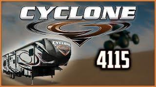 2018 Heartland Cyclone 4115 Toy Hauler RV For Sale Lakeshore RV Center