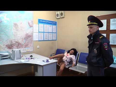 Нарушение общественного порядка в аэропорту Толмачёво