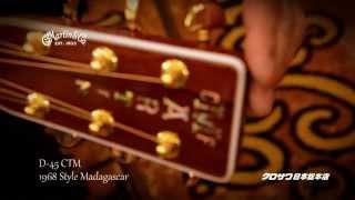 C.F.Martin Guitar CTM D-45 1968 Style Madagascar 【解説動画】