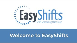 EasyShifts video