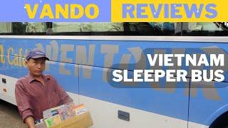 REVIEW - Vietnam Sleeper Bus (Open Tour Bus)