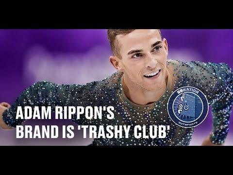 Adam Rippon says he always tries to wear something