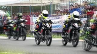 PON XIX JABAR 2016  FULL  RACE Kelas 125cc BEREGU