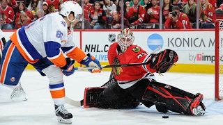 GOAL!!! WAIT HE MADE THE SAVE!   NHL GREATEST SAVES
