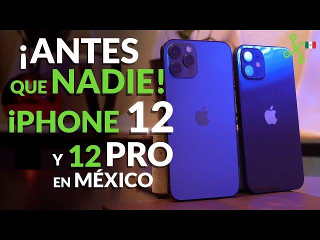 iPhone 12 y iPhone 12 Pro, UNBOXING en MÉXICO: los TENEMOS antes que NADIE