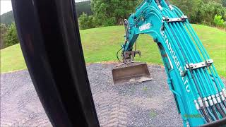 Mini Excavator Operating Tips