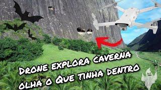 Drone Fimi x8 Se explora caverna Misteriosa e olha o que tinha lá