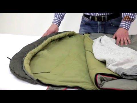 Смотреть видео Спальный мешок Alexika Summer Plus