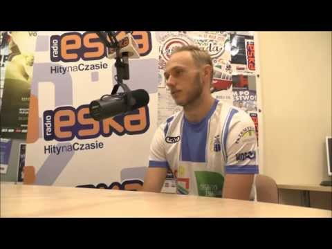 Grzegorz Lech w Radiu Eska przed meczem z Chojniczanką Chojnice