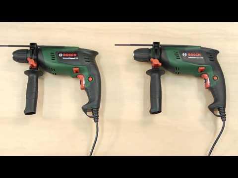 Tutorial: Schlagbohrmaschinen EasyImpact 550/570, UniversalImpact 700/800, AdvancedImpact 900
