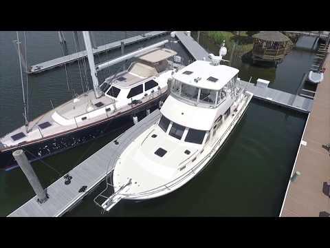 Sabreline 47 Motor Yacht video