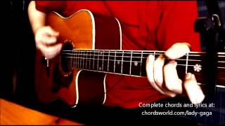 MANiCURE Chords by Lady Gaga - How To Play - chordsworld.com