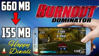 Burnout Dominator [ PPSSPP ] PSP GamePlay - hmong video