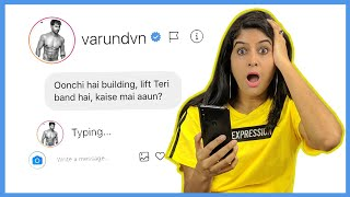 DM'ing 100 Bollywood Celebrities on Instagram to see who replies | Anisha Dixit | Rickshawali