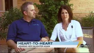 Taylor Storch Video   Mother Hears Her Daughter's Heart Beat Again   Inspirational Video