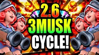 *WOW* INSANE 2.6 FASTEST 3 MUSKETEERS CYCLE EVER!! 100% WINS!?