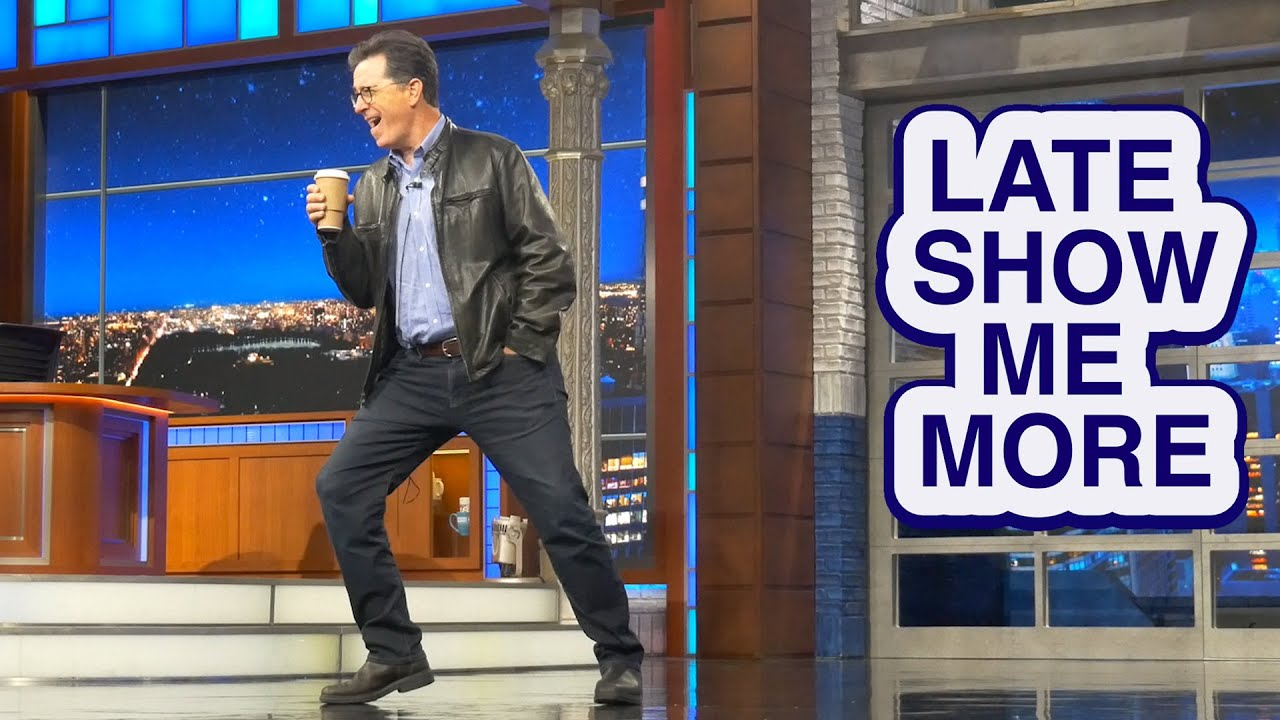 Late Show Me More: It's The Leather Jacket thumbnail