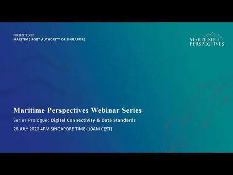 Maritime Perspectives: Digital Connectivity & Data Standards