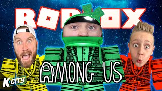 A ROBLOX Imposter AMONG US!!! K-CITY GAMING