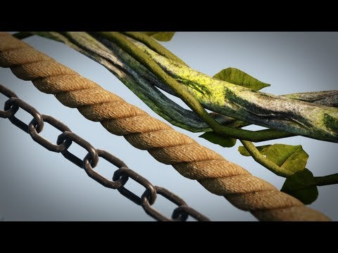 UDK and Maya Tutorial: Creating Game-Ready Chains, Ropes, and Vines in Maya and UDK
