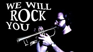 We Will Rock You | Trumpet Ensemble | Queen cover