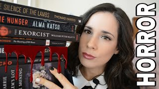 Scariest Book Of All Time ?! | Horror Book Haul | Your Recommendations! | New Hair!