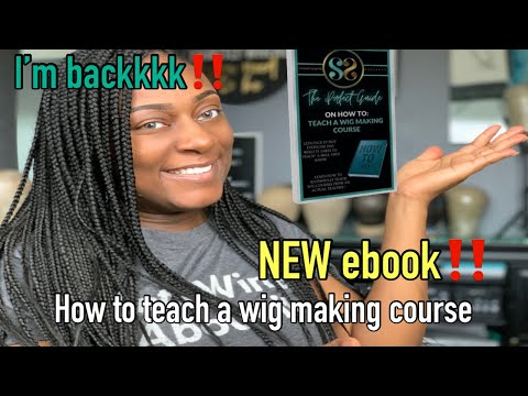 Are you thinking about teaching wig making classes? WATCH THIS VIDEO