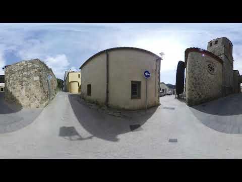 ⏬ IMAGEN 360 - Dosrius Pueblo antiguo con iglesia