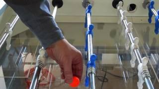 Robotic Foosball Machine Crushes Human Competition