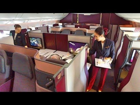 World's BEST Business Class – Qatar Airways Qsuite