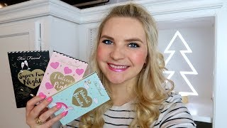 TOO FACED BEST YEAR EVER! | Review + Swatches | Holiday 2017 Makeup
