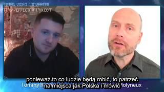 Poland Nationalism Rising  Tommy Robinson and Stefan Molyneux PL napisy