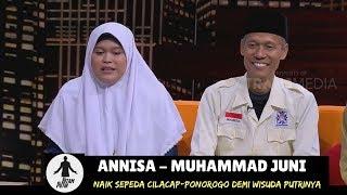 Gowes Cilacap-Ponorogo Demi Wisuda Putrinya   HITAM PUTIH (07/08/18) 2-4