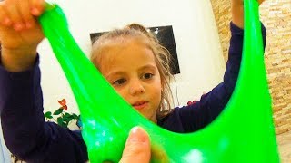 Дети не поделили игрушки СЛАЙМ Челлендж КВЕСТ в доме для детей
