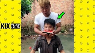 Watch keep laugh EP345 ● The funny moments 2018
