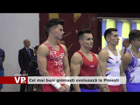 Cei mai buni gimnaști evoluează la Ploiești