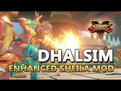 Street Fighter 5 mods Dhalsim over Urien - смотреть онлайн