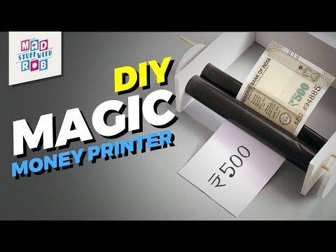 DIY Magic Money Printer | MadStuffWithRob