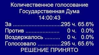 О сближении бухгалтерского и налогового учета (Госдума, 21.03.2014)