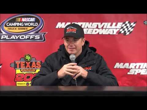 2018 NASCAR Martinsville Truck pre-race Q&A