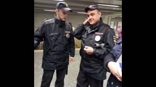 17.05.2017  время 13:00 метро Отрадное,наглое поведение сотрудников  Гку орг.перевозок(часть 1)
