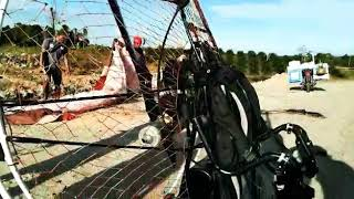 preview picture of video 'First Paramotor Tanjung Palas Utara , Bulungan, Kalimantan Utara'