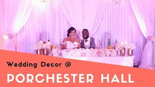 Porchester Hall Wedding -London Wedding Decor By Designer Chair Covers To Go