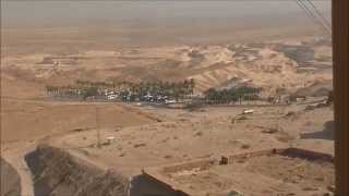 preview picture of video 'On Masada Cableway,  Israel, November 13, 2014'