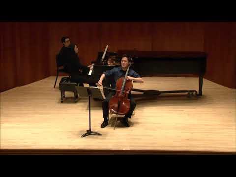 Mendelssohn Cello Sonata in D Major Movement 1.