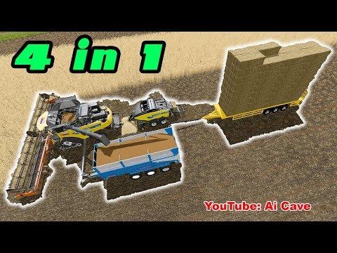 Harvesters tipper combo? :: Farming Simulator 17 General Discussions