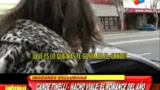 candelaria Tinelli y Nacho Viale
