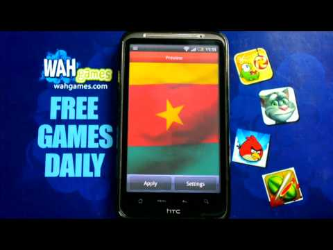 Video of Cameroon flag Free lwp