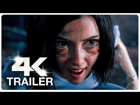 ALITA BATTLE ANGEL Trailer 2 (4K ULTRA HD) NEW 2019